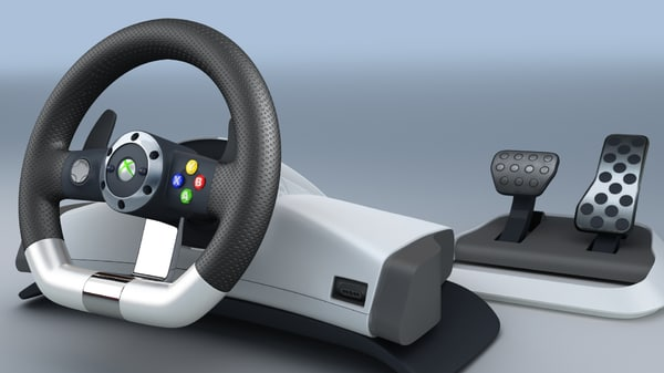 TKs Microsoft XBox 360 Racing Wheel